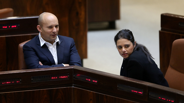 Bennett and Shaked will find it difficult to regain their achievements after elections  (Photo: Alex Kolomoisky)