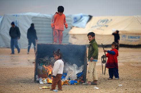 השהות הממוצעת של פליט במחנה פליטים עומדת על 17-10 שנים (צילום: Gettyimages)