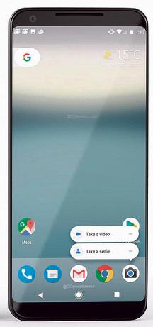 Google Pixel 2 XL: זיכרון צנוע ()