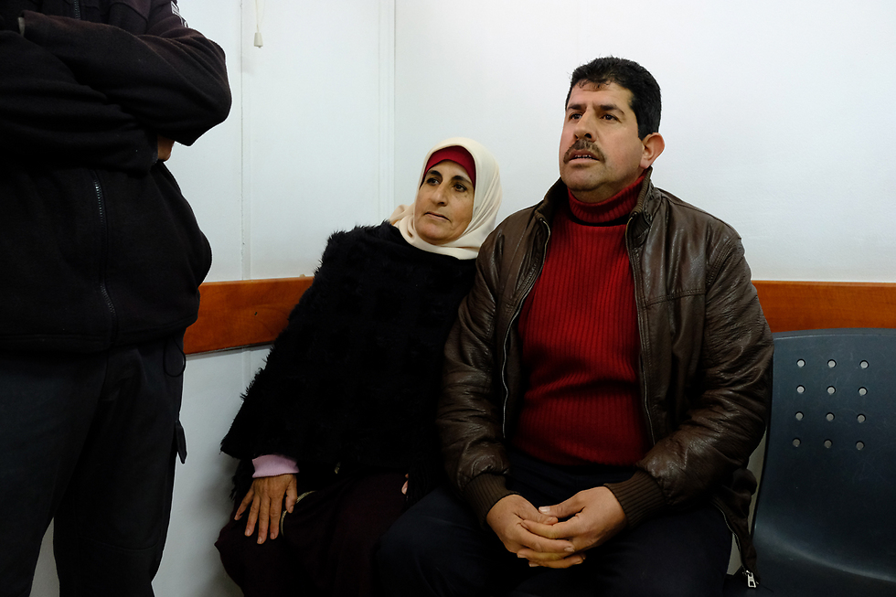 The terrorists' parents in court (Photo: Yoav Dudkevitch)