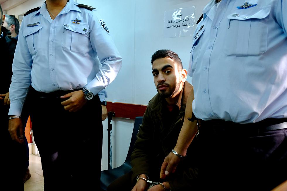 מבצע הטבח בחלמיש, עומר אל-עבד (צילום: יואב דודקביץ) (צילום: יואב דודקביץ)