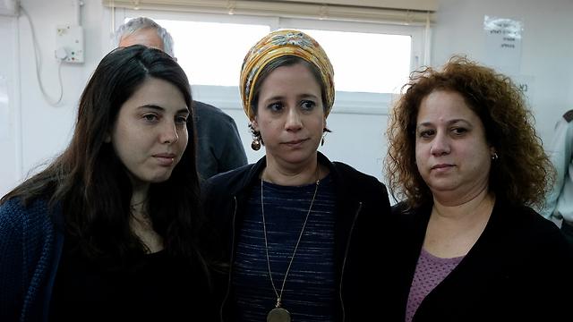 """חן, רחל ואורית ממשפחת סלומון: """"הבית הפך למקום מלא בכאב"""" (צילום: יואב דודקביץ) (צילום: יואב דודקביץ)"""