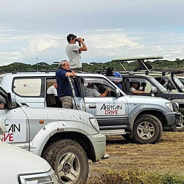 מסע ג'יפים באוגנדה