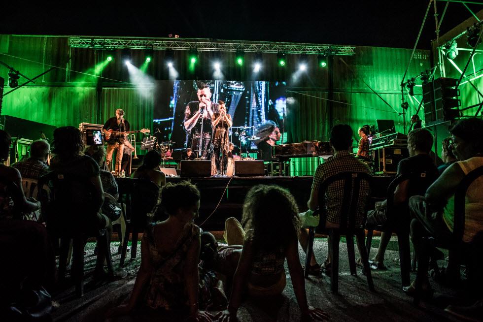 פסטיבל הג'אז - אולי אחד הפסטיבלים הכי מפורסמים של אילת (צילום: בועז סמוראי)