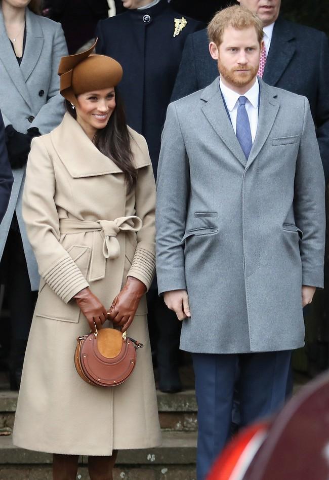 אתם נראים קצת מתוחים. הנסיך הארי ומייגן מרקל (Gettyimages)