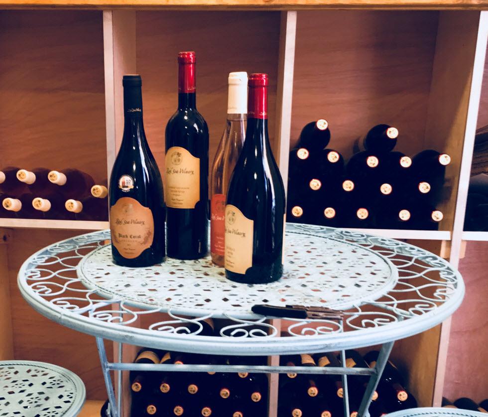 לשבת עם כוס יין על רקע השקיעה. יקב הים האדום (צילום: לין לוי)
