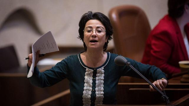 MK Hanin Zoabi at the Knesset (file photo) (Photo: Knesset)