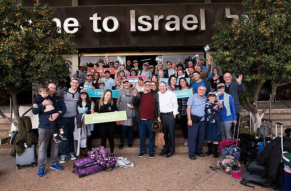 27,000 people made Aliyah in 2017 (Photo: Ben Kelmer)