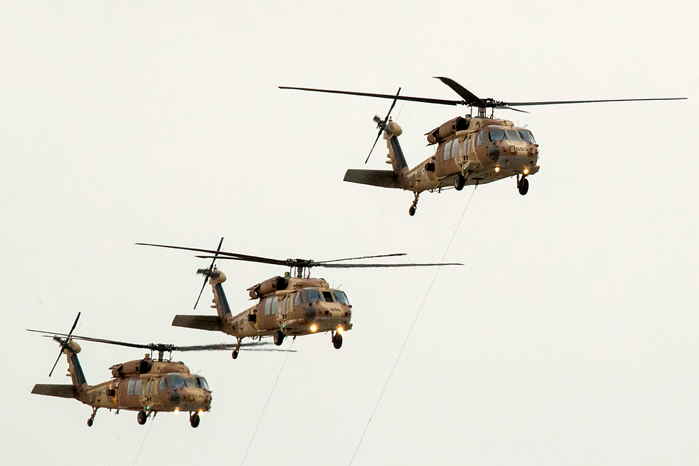 Blackhawk helicopters (Photo: AFP)