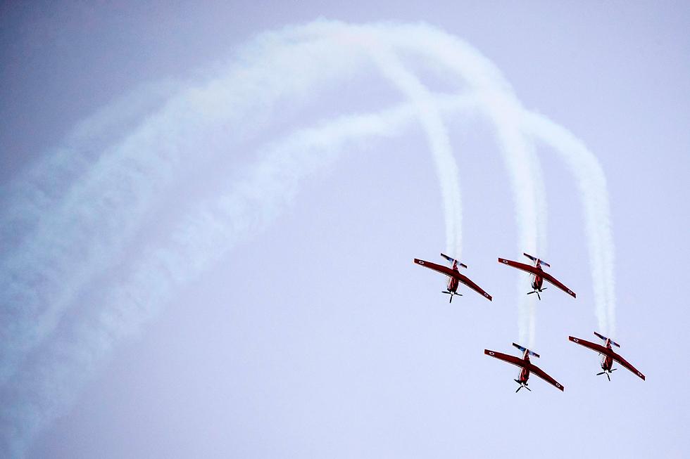 Beechcraft training aircraft (Photo: AFP)