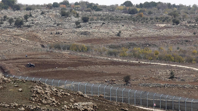 The Syrian-Israeli border (Photo: EPA)