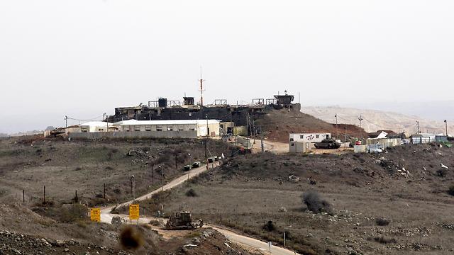 Израильско-сирийская граница. Фото: EPA