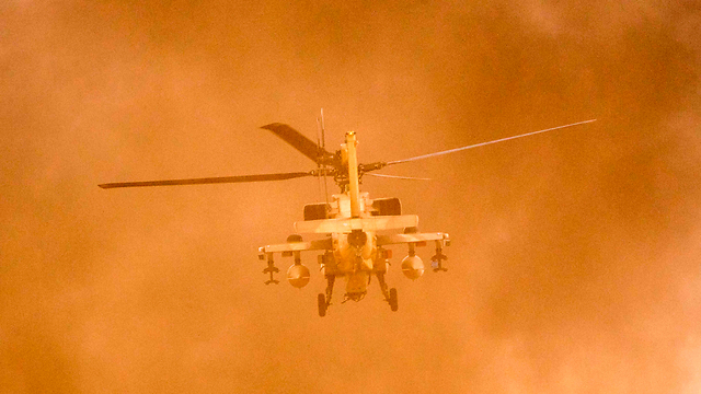 Apache helicopter (Photo: AFP)