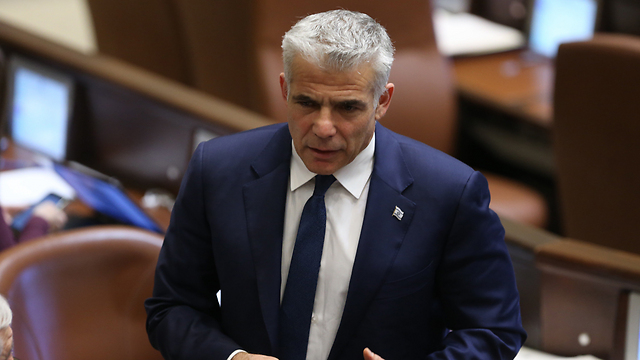 Yesh Atid chief Lapid said the law proved the primary system was corrupt (Photo: Amit Shabi)