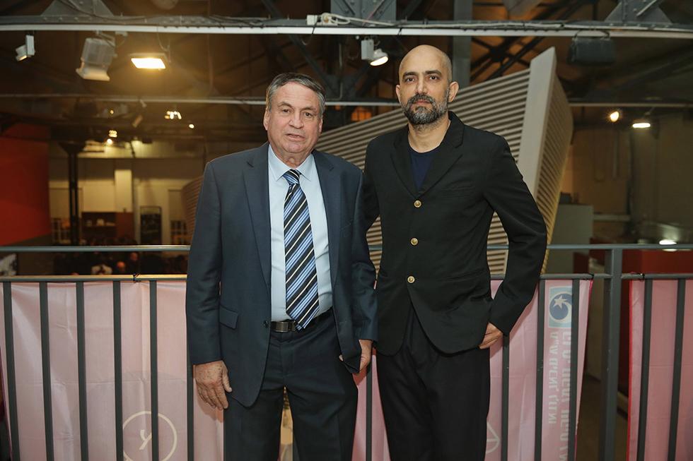 שלומי אלקבץ ועוזי דיין (צילום: שוקה כהן) (צילום: שוקה כהן)