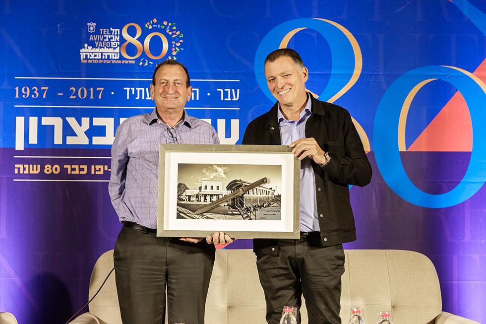 אלי גינזברג ורון חולדאי (צילום: דורון סהר) (צילום: דורון סהר)