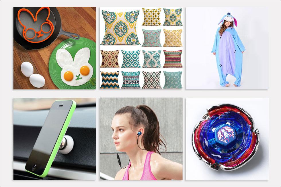 כל המחירים והפרטים על המוצרים - בהמשך (צילום מתוך ebay.com, aliexpress.com)