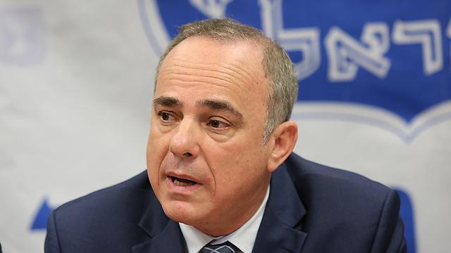 Minister Steinitz (Photo: Alex Kolomoisky)