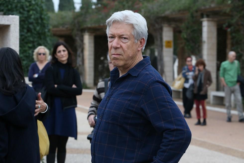 חוקר הספרות ובן זוגה לשעבר של מטלון, פרופסור אריאל הירשפלד (צילום: שאול גולן) (צילום: שאול גולן)