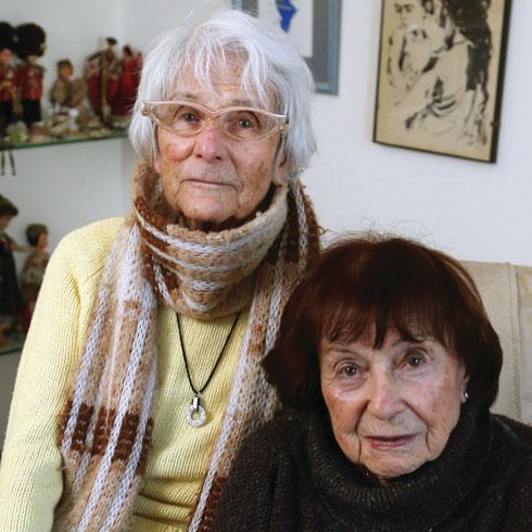 לחצו על התמונה לראיון עם האחיות פישביין (צילום: צביקה טישלר)