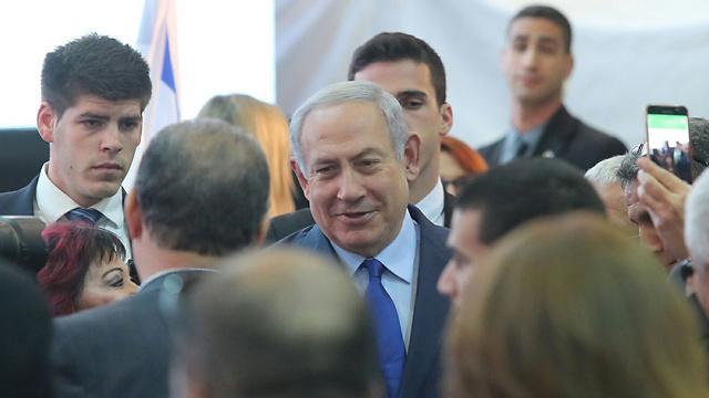 PM Netanyahu (Photo: Gil Nachshoni)