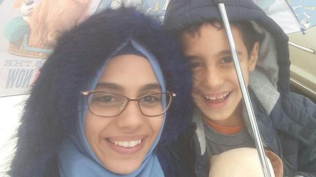 סננא ותד והבן שלה אוסאמה ()