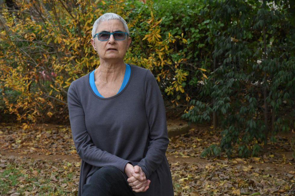 """סוזן קלאי שחולה בלוקמיה: """"זו התקווה שלי"""" (צילום: אביהו שפירא) (צילום: אביהו שפירא)"""