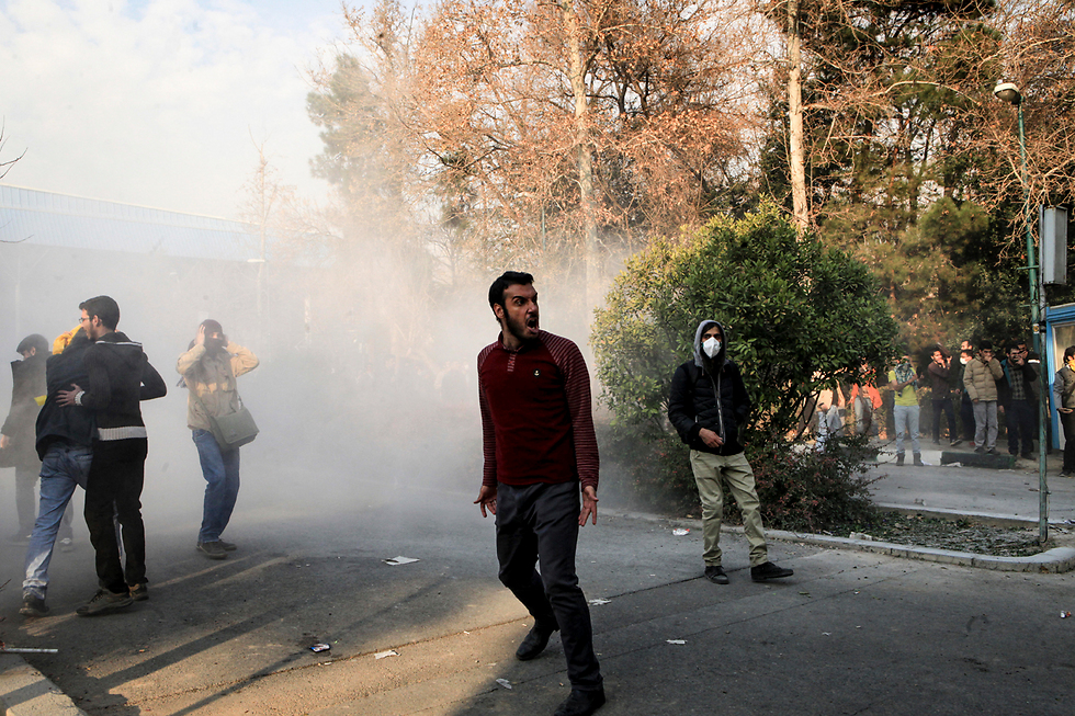 Protestors are completely undermining the entire Iranian political discourse (Photo: AP)