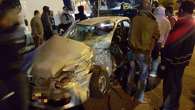 """תאונה קטלנית ליד פוריידיס בסופ""""ש ()"""