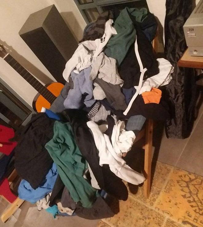 """טלי דוברת שגב: """"לקח שבוע עד שהחלטתי שאני מתפנה לקפל את הכביסה. אמא שלי היתה אומרת לנו 'מלכת אנגליה הודיעה שהיא לא מגיעה היום לביקור, אז אני יכולה ללכת לישון והכביסה תחכה'"""""""
