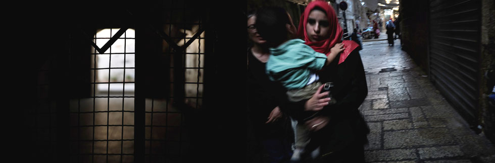 """השוק בירושלים. """"אתה נעשה אקטיביסט"""" (צילום: ורד שדות)"""