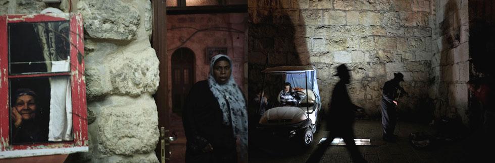 """העיר העתיקה בירושלים. """"אם רואים משהו מקרוב, זה קורה משום שהתקרבתי"""" (צילום: ורד שדות)"""