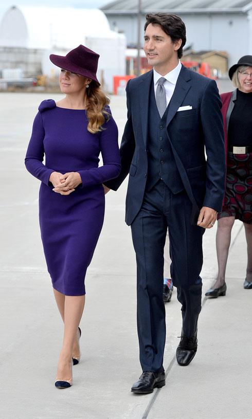 מלרוני היא גם המלבישה הצמודה של סופי גרגואר-טרודו, רעייתו של ראש ממשלת קנדה (צילום: Gettyimages)