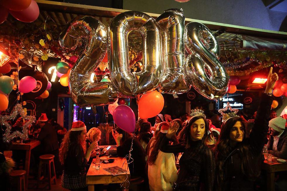 A Tel Aviv New Year party (Photo: Motti Kimchi)