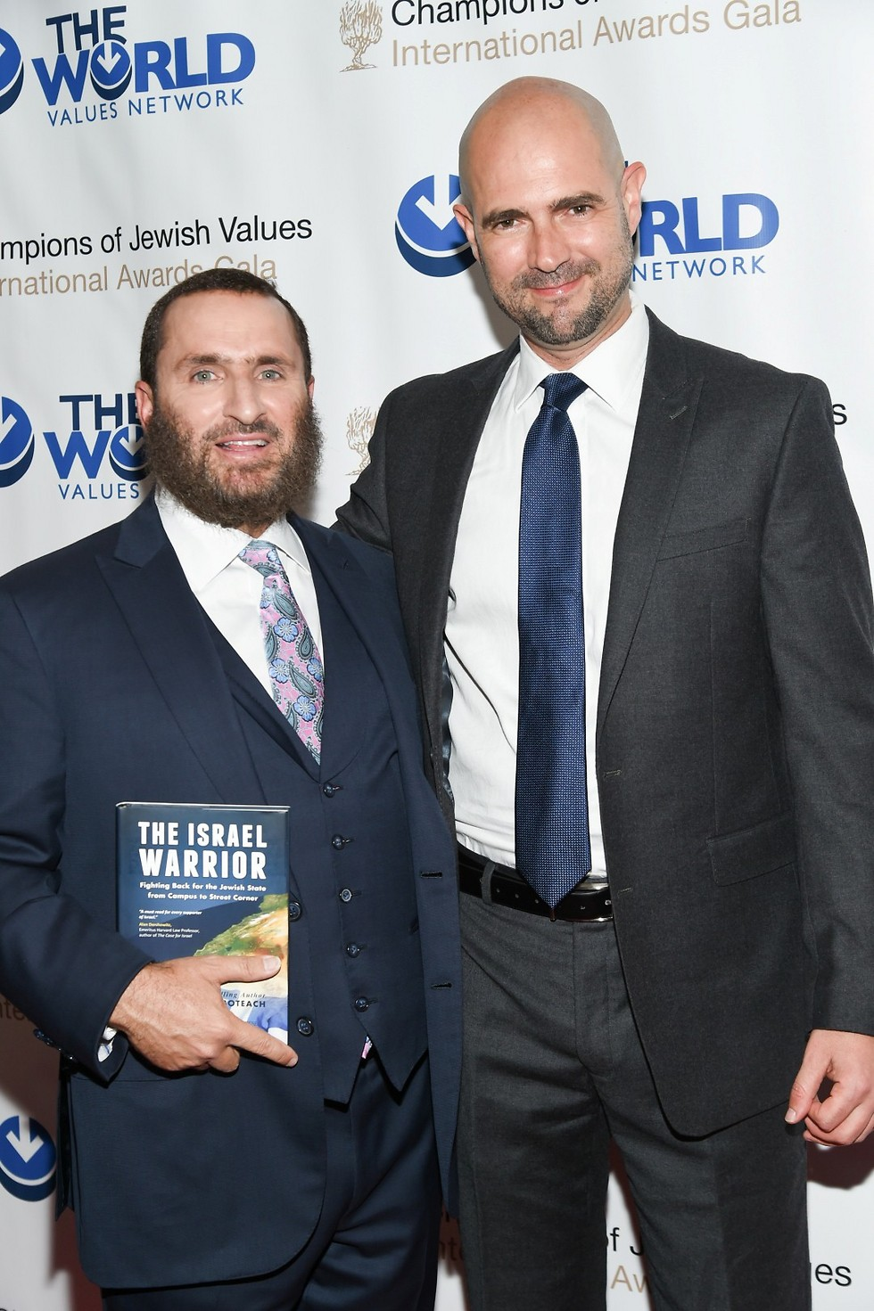 Boteach with Knesset Member Amir Ohana of Likud  (Photo: AP)