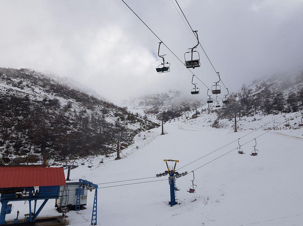 Mt Hermon ski lift (Photo: Hermon site)