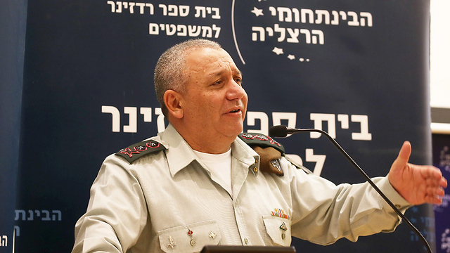 Eisenkot said Hamas was inciting West Bank terror to divert fire from Gaza (Photo: Yariv Katz)