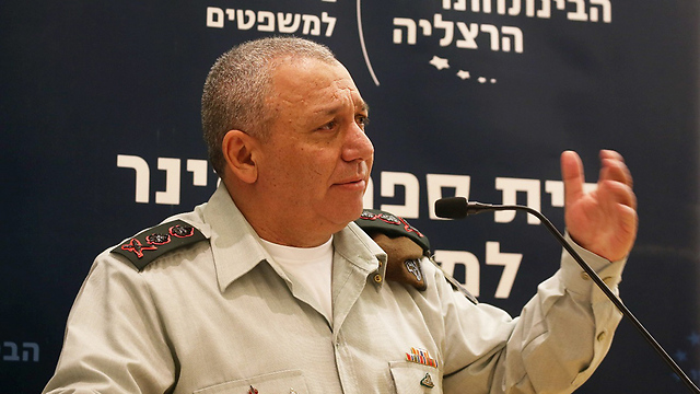 IDF Chief of Staff Eisenkot (Photo: Yariv Katz)