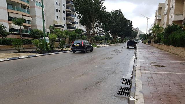 אשקלון לאחר הסערה (צילום: בראל אפרים )