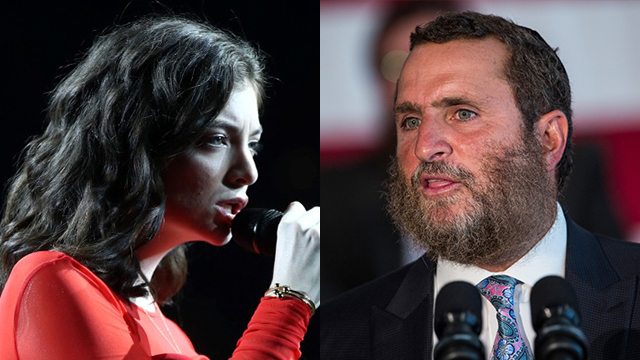 Rabbi Shmuley Boteach vs. Lorde (Photo: Getty Images)