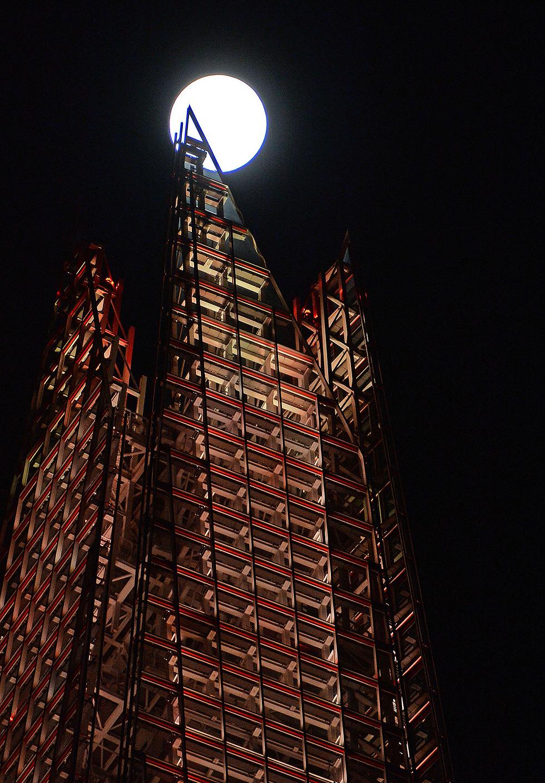 מעל המגדל, בלונדון (צילום: MCT) (צילום: MCT)