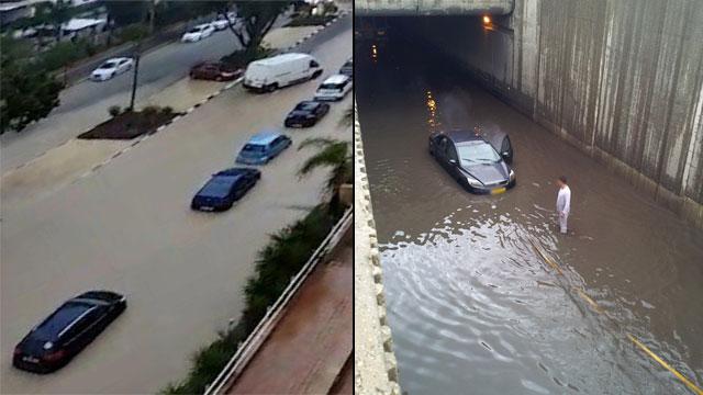 מימין: חיפה. משמאל: אשקלון (צילום: דן גור)