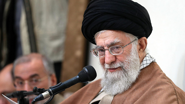 Supreme Leader Khamenei said Iran's enemies were sowing discord (Photo: AFP)