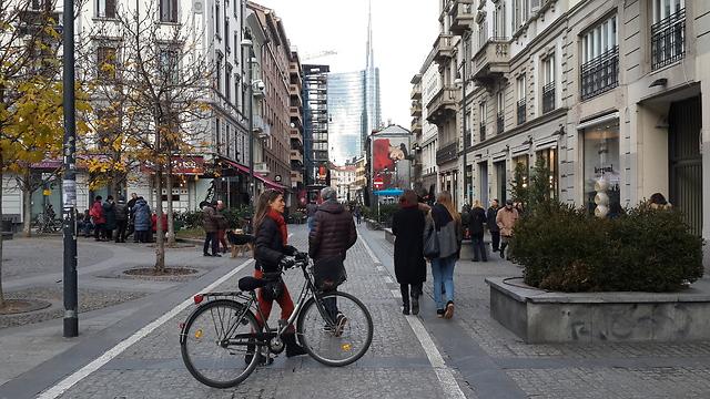 מילאנו: במרכז העיר הכל פתוח (צילום: מיכל מנדל) (צילום: מיכל מנדל)