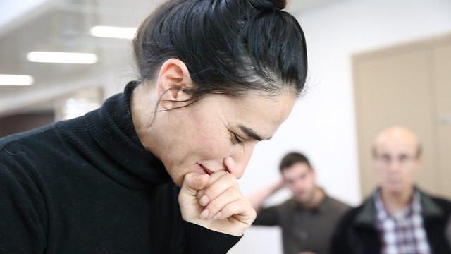 ממשיכה למחות. מרציאנו צייגר (צילום: מוטי קמחי) (צילום: מוטי קמחי)
