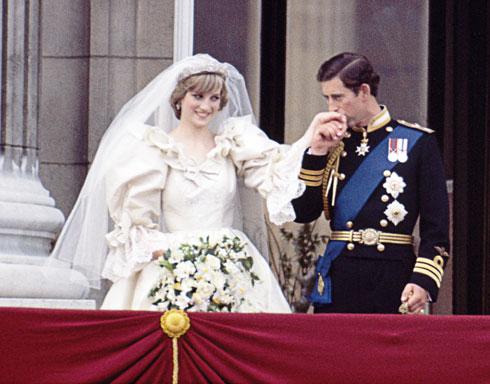 הנסיך צ'רלס ודיאנה ספנסר (צילום: Gettyimages)