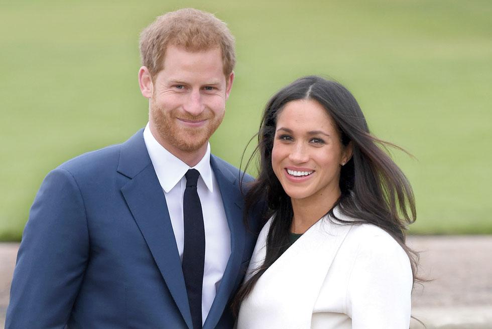 הנסיך הארי ומייגן מרקל, שעתידים להינשא במאי הקרוב (צילום: Gettyimages)