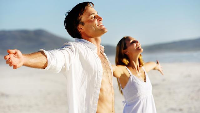 לא תמיד בני זוג חושבים אותו הדבר, אבל כשהם כן מתואמים - אין כיף מזה (צילום: shutterstock)