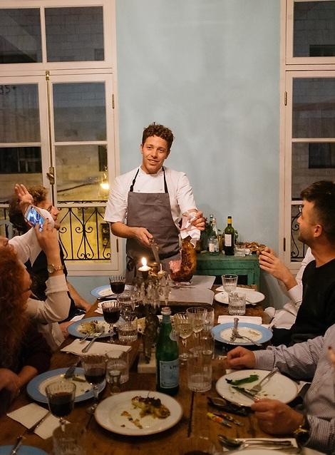 """השף דייויד פרנקל, """"פרונטו"""" (צילום: פרדי מולי)"""