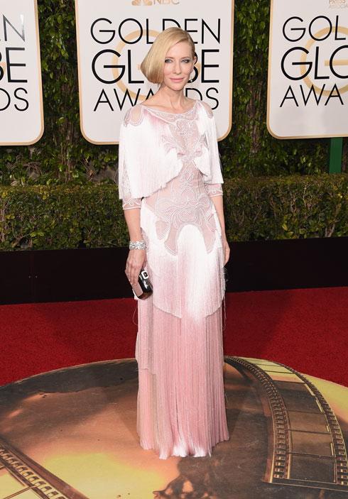מלכת השטיחים האדומים. קייט בלאנשט לובשת ז'יבנשי (צילום: Gettyimages)
